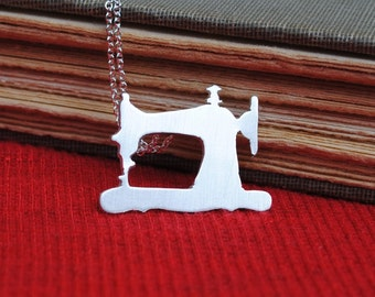 Singer Silhouette Necklace