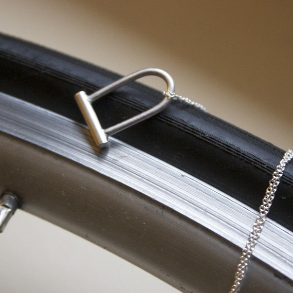 Bike Lock Necklace