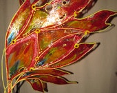 Custom designed flame wings - RESERVED
