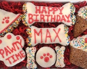 Pawty Time Personalized Happy Birthday Gift Box