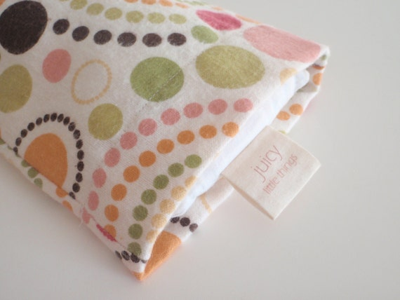 Rice Therapy Heat Pack in Pastel Pop 16x5  (Rice Bag) (Heat Bag) (Rice Heat Bag) (Therapist Made) (Microwave)