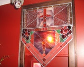 Stained Glass Window panel made with ART glass