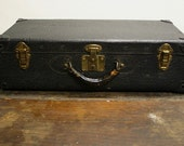 RESERVED for Jon RESERVED for Jon Vintage Suitcase Black Croc Pattern