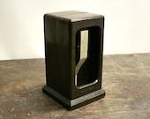 Vintage Napkin Dispenser /  Mid-Century / Industrial