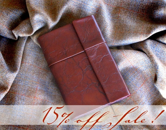 Leather Bible ESV with protective flap magnetic clasp