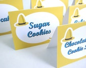 Curious George Inspired Food Labels- Set of 6