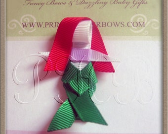 Ariel The Little Mermaid Princess Hair Clip-- Inspired by Disney-- Birthdays and Baby Showers