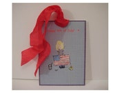 4th of July Gift Tags - CELEBRATE the Red, White and Blue - SET of 8