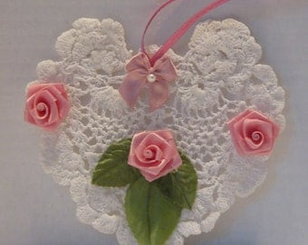 Vintage Doily Wall Decoration