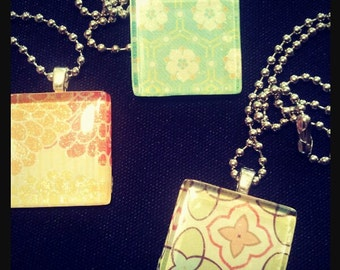 Multi fLoRaL pendants