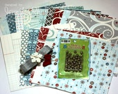 Echo Park Designer Paper Christmas Card Starter Kit