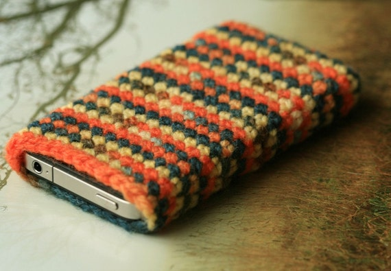 Crochet iPhone or iPod case