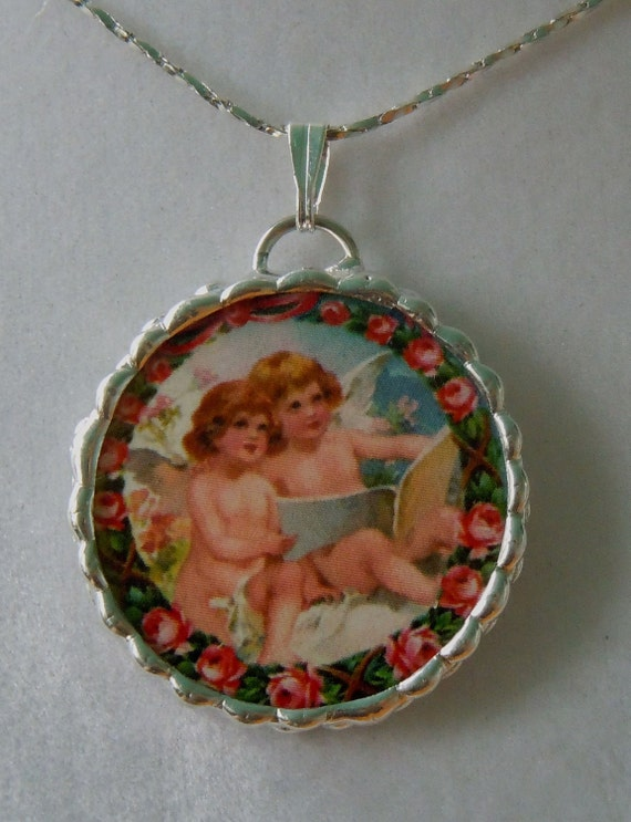 Fiona And The Fig Double Sided Soldered Necklace Pendant