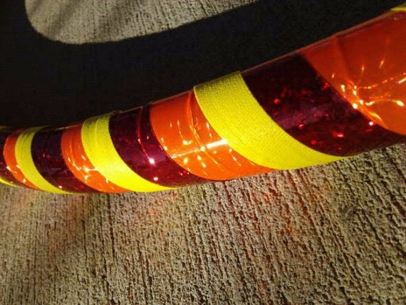 Orange, Red and Yellow Adult Hula Hoop