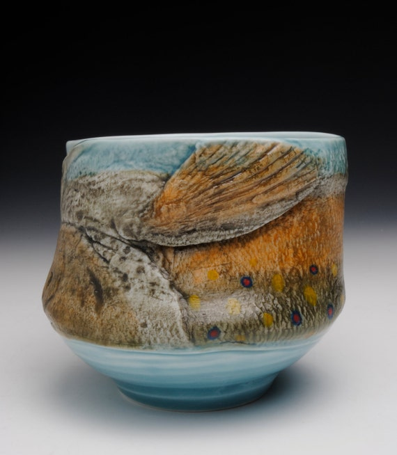 LARGE Fish Tea Bowl (Nature as Objects)