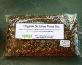 Organic St Johns Wort Tea- Antidepressant 2.5 oz