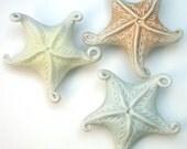 Peachy keen porcelain starfish