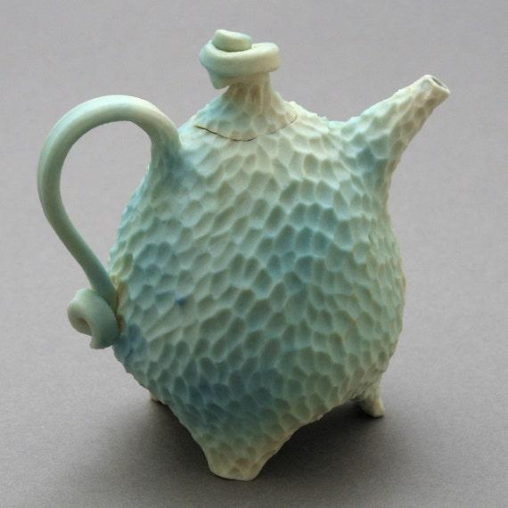 Blue sea teapot