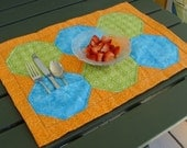 Quilted placemat pattern