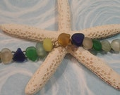 Sea Change Multicolored Seaglass Bracelet