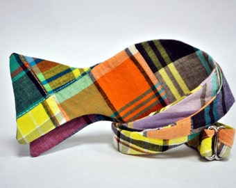 Cohen Cotton Madras Bow Tie