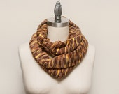 LARGE Missoni Knit Infinity Scarf // Concord Caramel // by OLA