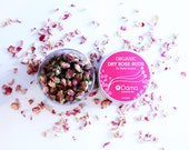 Hand Picked Organic Rose Buds for Facial Steam - 3 OZ