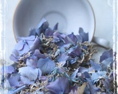 Happily Ever After Hydrangea Petal Confetti - Spring Wedding Flower Girl - Decoration Weddings - Flower Toss - Periwinkle Blue