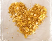 Sunshiny Day Petal Confetti - Rice Alternative - Toss - Spring, Summer, Fall, Winter Weddings - Wedding Send Off - Yellow Dried Flowers - sparkleandposy