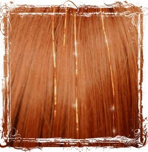 Copper Colored Hair on Copper Colored Hair Tinsel With Instructions   How To Tie Them Into