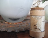 Birch Bark Box, Very Small, Russian Olive Lid
