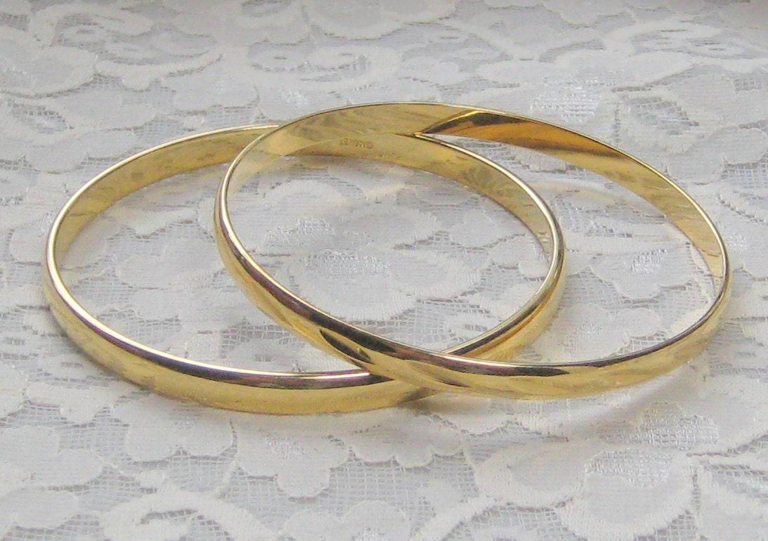 monet gold bangle bracelet