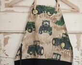 Field of Tractors... child's apron