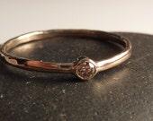 Diamond Ring, Chocolate colored, Diamond engagement Ring, Diamond Stacking Ring, Conflict free Diamond Ring
