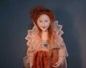 Cloth doll pattern Annabella