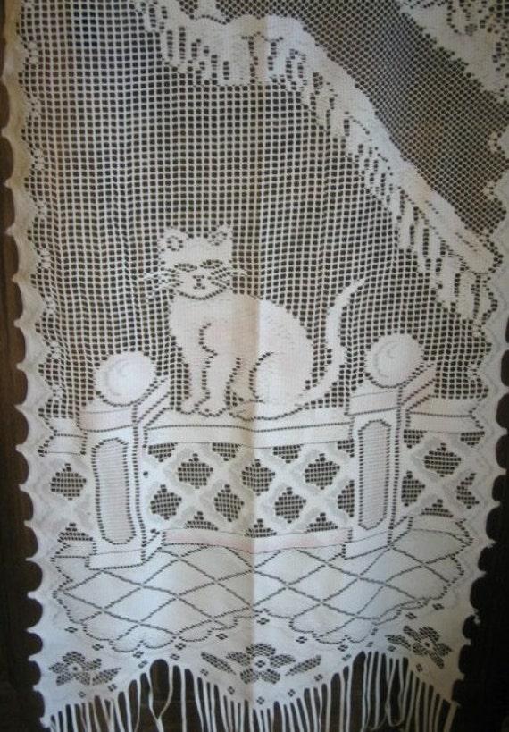 lace curtains nursery