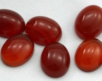 10 pcs 8x10 mm  agate oval cabochon