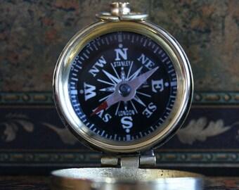 45 pcs 36 mm Nautical Compass Pendant