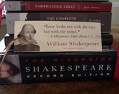 """Bookmark: Shakespeare's """"A Midsummer's Night Dream"""" - Love looks not with the eyes"""
