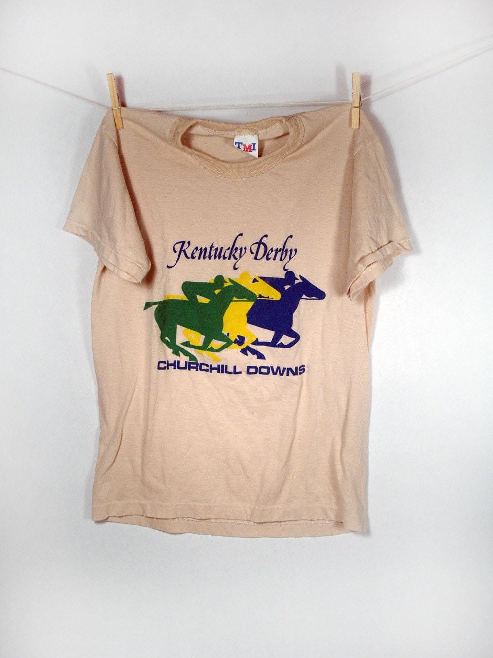 vintage kentucky derby t shirt