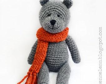 Teddy bear - amigurumi pattern (eng)