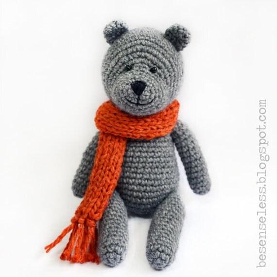 Teddy bear amigurumi pattern eng by airali on Etsy
