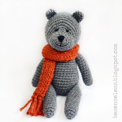 Teddy bear amigurumi pattern italiano by airali on Etsy