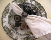 Wool Napkin Rings...Now 50%Off... Closing Sale