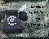 Listen More - Inspirational 8x10 Print - Capture the Art of Your Life