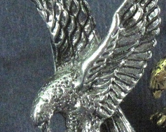 Harley Davidson Eagle  SILVER TONE Pin