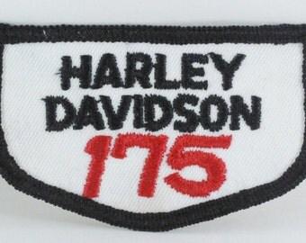 Harley Davidson '175' Patch