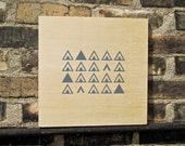 Teepee Triangle Wall Art
