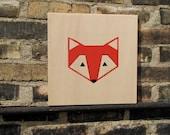 Little Red Fox Wall Art