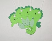 Under the Sea / Tropical Gift or Favor Tags - Seahorse - Set of 4